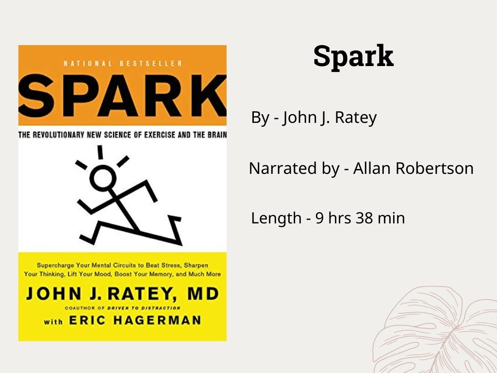 Spark by John F. Ratey